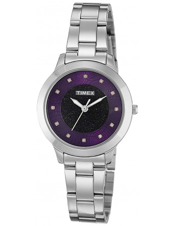 Timex Analog Purple Dial Women's Watch
