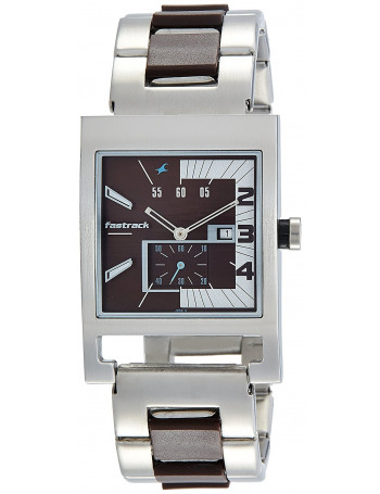 Fastrack Analog Brown Dial Men's Watch - 1478SM02