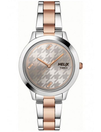 Helix Analog Grey Dial Women's Watch