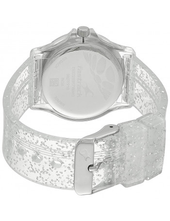 Fastrack Trendies Analog Silver Dial Women's Watch
