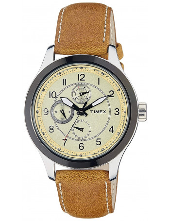Timex Analog Yellow Dial Men's Watch