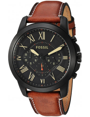 Fossil FS5241 Chronograph Black Dial Men's Watch