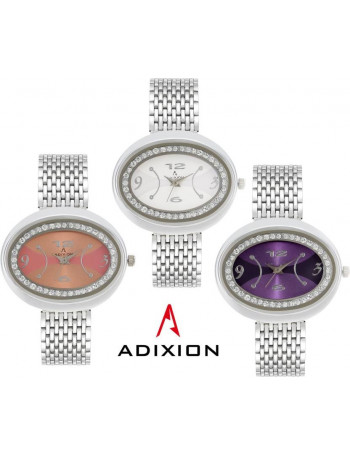 ADIXION 9420SM060207 New Stainless Steel Bracelet Watch Watch