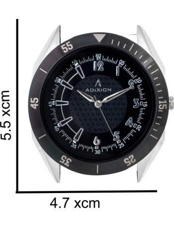 ADIXION AD9301SL0101C Combo New Date Pattern Watch