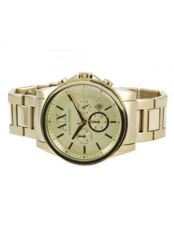 Armani Exchange Outerbanks Analog Gold Dial Men's Watch