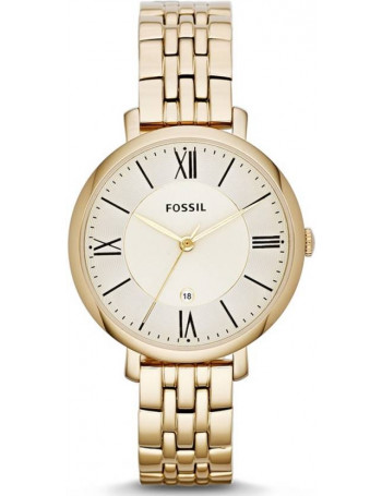 Fossil Analog Gold Dial Women's Watch