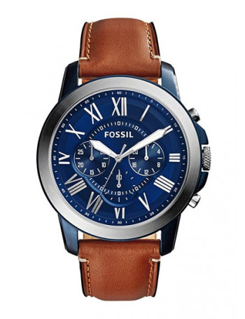Fossil FS5151 Grant Chronograph Blue Dial Men's Watch