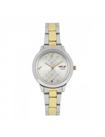 Helix Analog Silver Dial Women's Watch