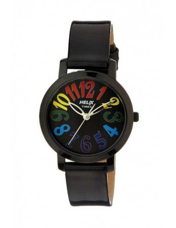 HELIX Analog Black Dial Women's Watch