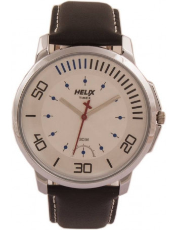 HELIX TW027HG05 Youth White Dial Color Men Watches