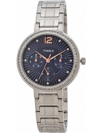 Timex Analog Blue Dial Women's Watch