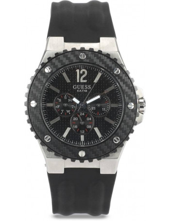 GUESS Overdrive Chronograph Black Dial Men's Watch