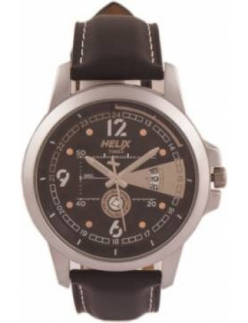 HELIX Youth Brown Dial Color Men Watches