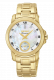 Seiko Premier Analog Mother of Pearl Dial Women's Watch