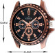 ADIXION 133KLB1A New Genuine Leather Youth Watches Hybrid Watch
