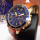 Fossil FS5268 chronograph Analog Blue Dial Men's Watch